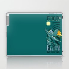 Icarus, The Incredible Flying Man Laptop & iPad Skin
