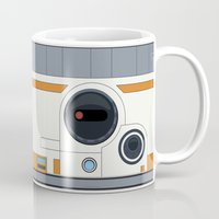 boob Mugs featuring BB-8 by dudsbessa