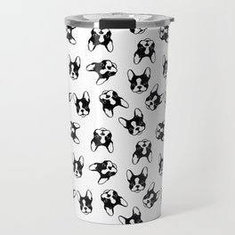 French bulldog pattern Travel Mug