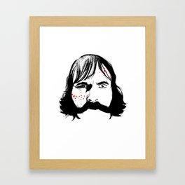 Bill Cutting Framed Art Print