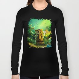 Encounter At The Cove Long Sleeve T-shirt