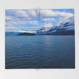Leaving Horseshoe Bay in Vancouver, BC Canada Throw Blanket