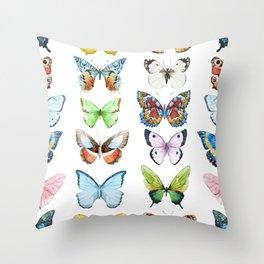Butterfly Pattern 05 Throw Pillow