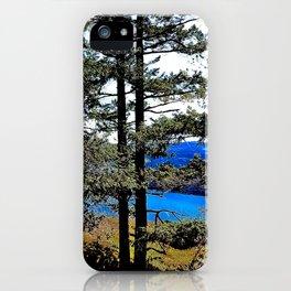 Trees, Daylight Stoney Hill iPhone Case