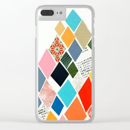 White Mountain Clear iPhone Case