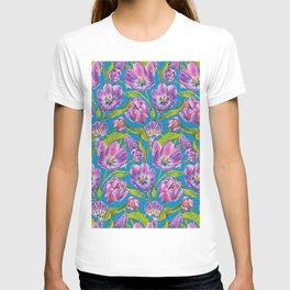 Botanical Purple Tulip - BBG T-shirt