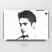 darren criss iPad Cases featuring Darren Criss Portrait by laurenschroer