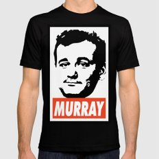 Murray LARGE Black Mens Fitted Tee