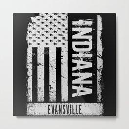 Evansville Indiana Metal Print