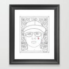 Autoportrait Framed Art Print