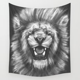 Courageous (Original drawing) Wall Tapestry