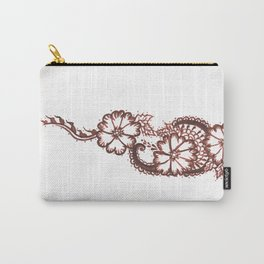 21. Growing Henna Flower Carry-All Pouch