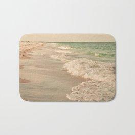 Tropical Beach Love Bath Mat