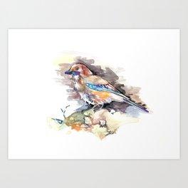Lovely Birds №1 Art Print