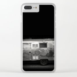 Vintage Airstream Camper Trailer Clear iPhone Case