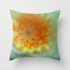 So magic Water Lily 729 Throw Pillow
