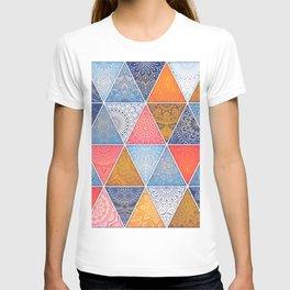 Pattern Mandala Losange T-shirt