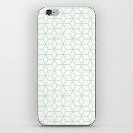 Hive Mind Mint Green #216 iPhone Skin
