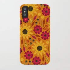 Fall is in th Air iPhone X Slim Case