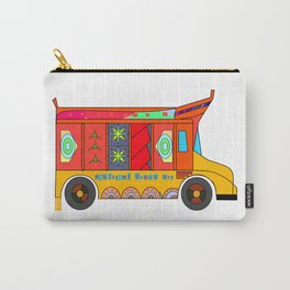 Truck Art Carry-All Pouch