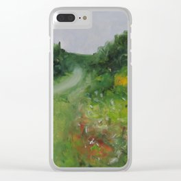 Moving On Clear iPhone Case