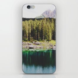 Carezza lake iPhone Skin