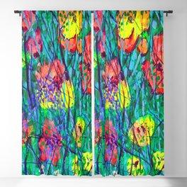 Hidden Flowers Blackout Curtain