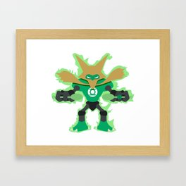 Green Lantern Alakazam Framed Art Print