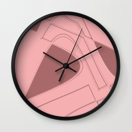Amazing Pink Wall Clock