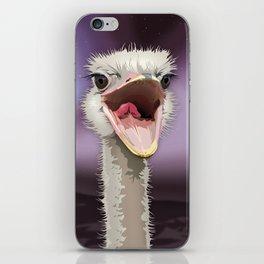 The Ostrich's Calling iPhone Skin