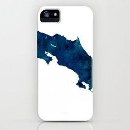 Costa Rica iPhone Case