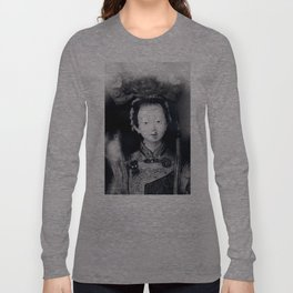 The chinese puppet kid Long Sleeve T-shirt