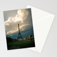 Paris, the Eiffel Tower in November Stationery Cards