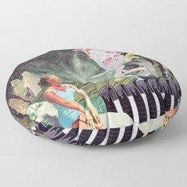 Nexus Point ( Collaboration with Eugenia Loli ) Floor Pillow