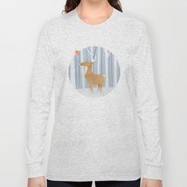 Origami deer in the Woods Long Sleeve T-shirt