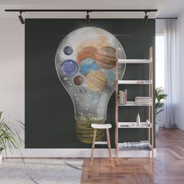 solar power Wall Mural