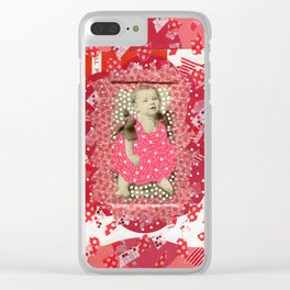 She's Fab Clear iPhone Case