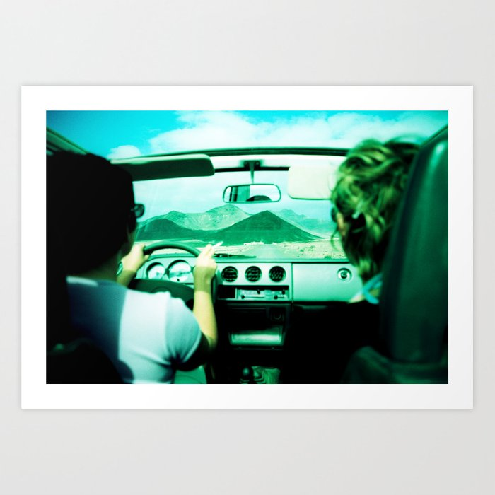 Roadtrip NO4 Art Print