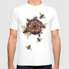 Pollen LARGE Mens Fitted Tee White