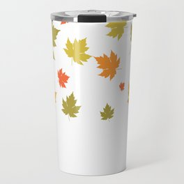 Autumm Leaves Travel Mug