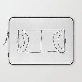 Handball in lines Laptop Sleeve