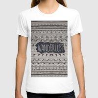 wanderlust T-shirts featuring WANDERLUST by Vasare Nar