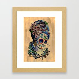 Marie de los Muertos Framed Art Print