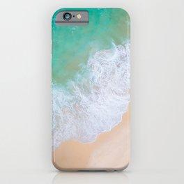 Aerial Beautiful Beach iPhone Case