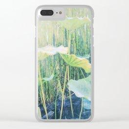 Zen Water Garden Clear iPhone Case