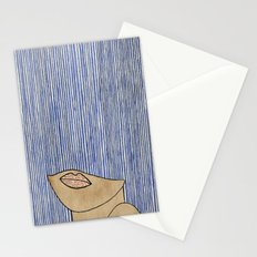 Rain Girl Stationery Cards