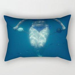 UNDERWATER VIII. Rectangular Pillow