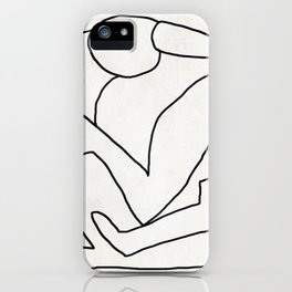 Abstract line art 2 iPhone Case