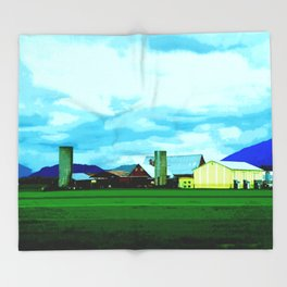 All At Once We Had It In For The Sky Throw Blanket