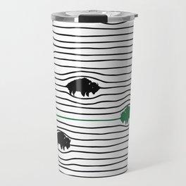 WAVY BFLO Travel Mug